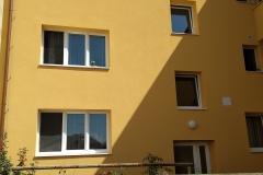 Stavební úpravy bytového domu nám. Svobody č. p. 808, Bzenec
