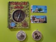 Turistický deník, nálepky, známky