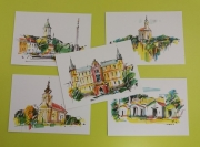 Malované pohlednice (PaeDr. Raška)