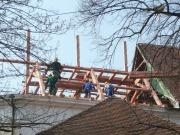 oprava krovu a střešního pláště v roce 2009
