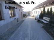 Kanalizace v ul. Fr. Šrámka