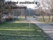 Veřejné osvětlení v ul. Sportovní