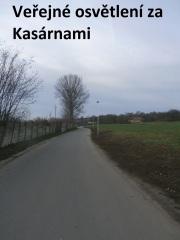Veřejné osvětlení v ul. Za Kasárnami