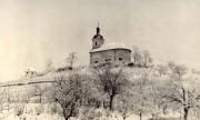 původní kaple focená v zimě
