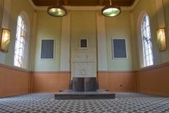 Židovská obřadní síň - interiér