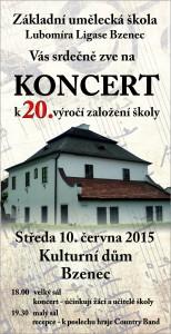 Pozvanka koncert ZUS