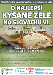 Plakát kost zele 2016
