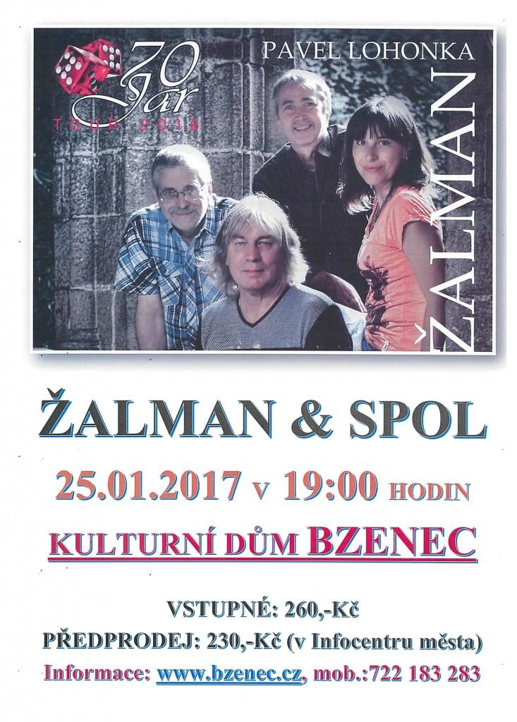 plakát Žalman
