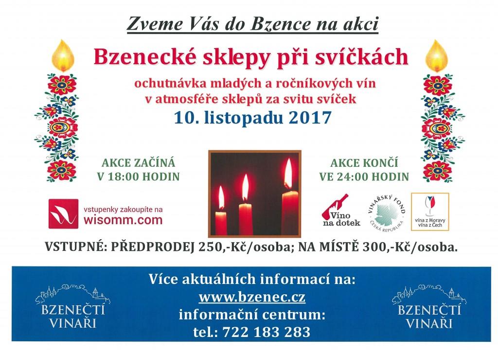 plakát Svíčky 2017