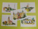 pohlednice malované – PaedDr. Raška